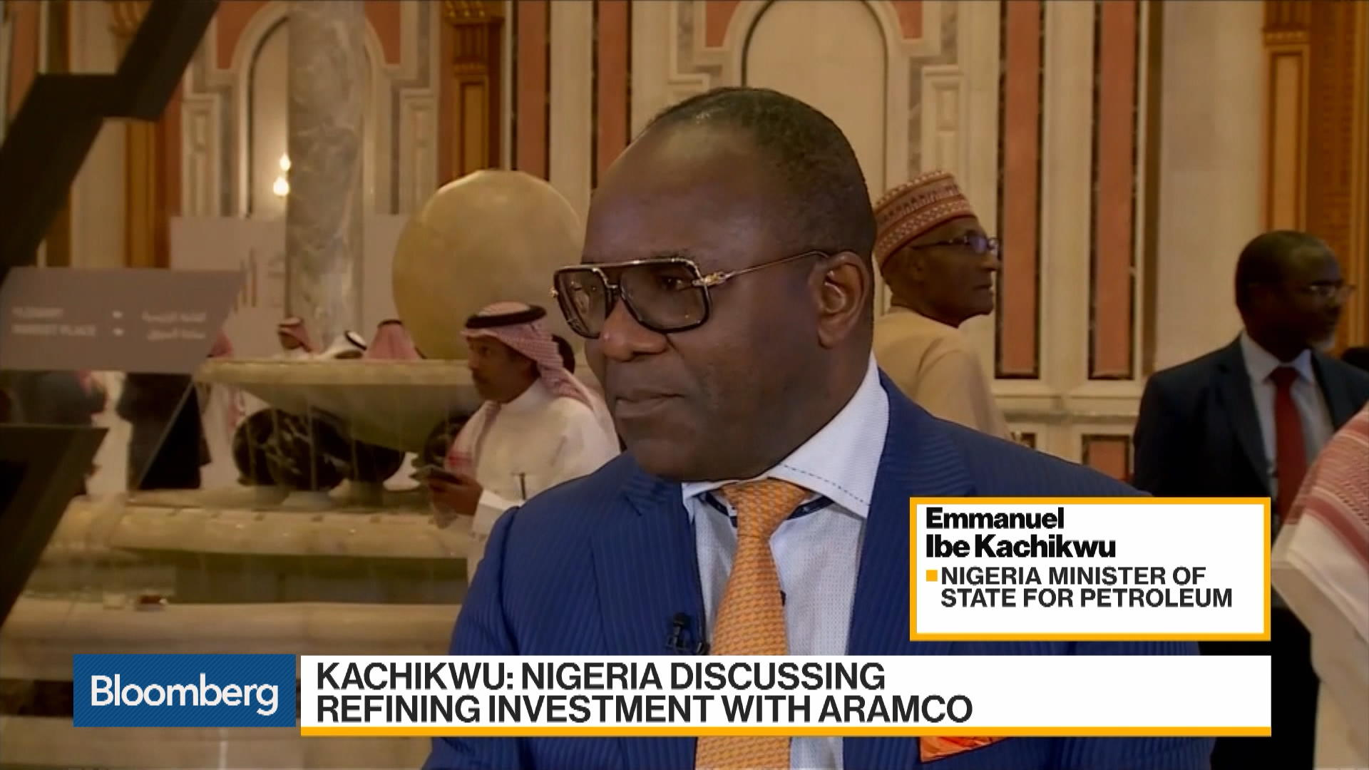 Nigeria, Aramco Discussing Refining Investment: Kachikwu