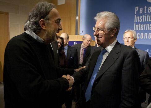 Marchionne Tells Monti Fiat Wants to Boost Italian Exports