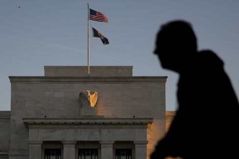 Views Of The Federal Reserve As Bond Market Sees Fed Delaying Rate Increase