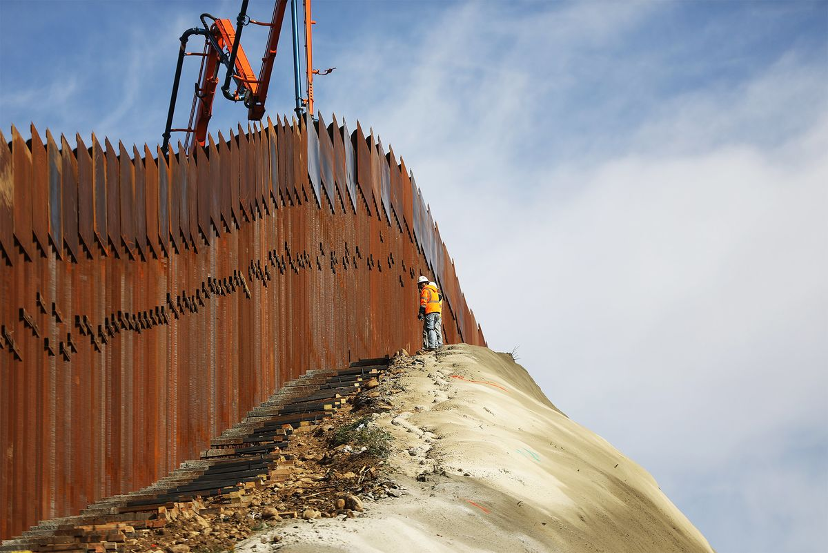 U.S. Wall Funding of $1.57 Billion Yields 1.7 Miles of Fence