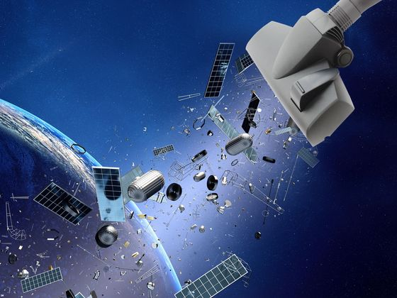 The British Want to Clean Up Outer Space