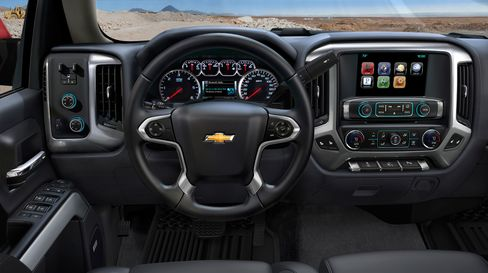 Interior of the 2014 Chevrolet Silverado