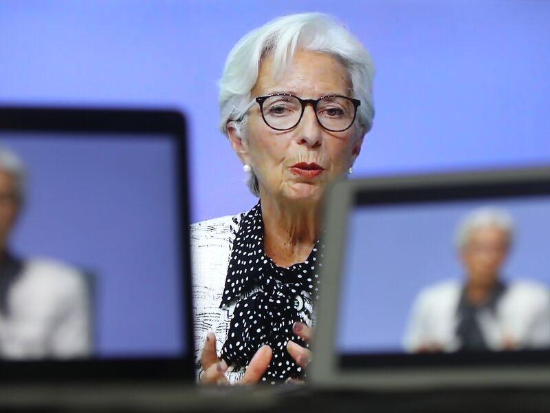 ECB President Lagarde Announces Virtual Rate Decision