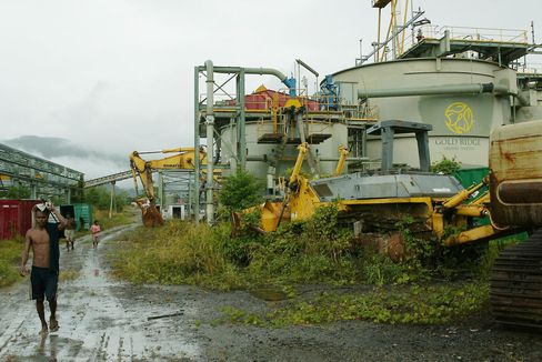 Gold Ridge Mine in the Solomon Islands