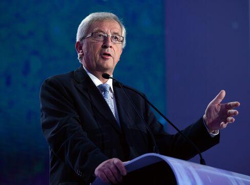 Former PM of Luxembourg Jean-Claude Juncker