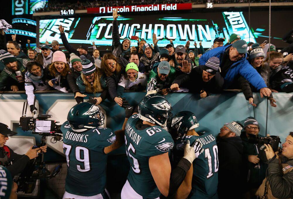 Brandon Brooks Philadelphia Eagles NFC Pro Bowl Game Jersey