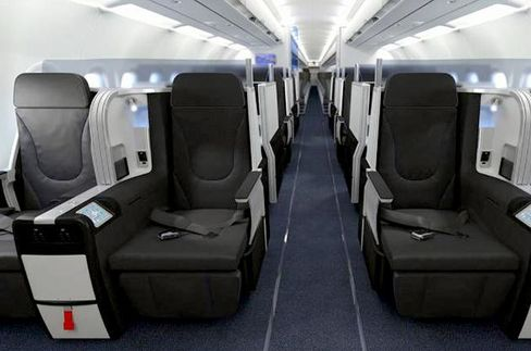 Airlines are getting fancy in the war to woo business- and first-class passengers, who make up just        15 percent of long-haul purchases but account for almost a quarter of revenue. Here are the newest ways        carriers are fighting to win your expense account.JetBlueComing in June, Mint business class will include the longest and widest lie-flat seats on a domestic airline—with adjustable firmness and a massage function. A new cabin configuration will allow four guests to enclose their seats behind doors for privacy. Other perks include Birchbox kits with a selection of beauty and grooming products and a tapas-style menu by New York's Saxon + Parole restaurant.