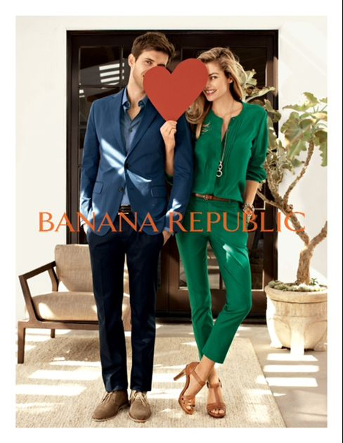 Gap's Banana Republic Makes Blogger Web Star of Spring Campaign