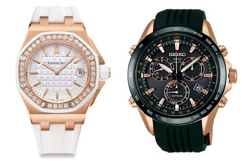 The winning watches in all their glory.