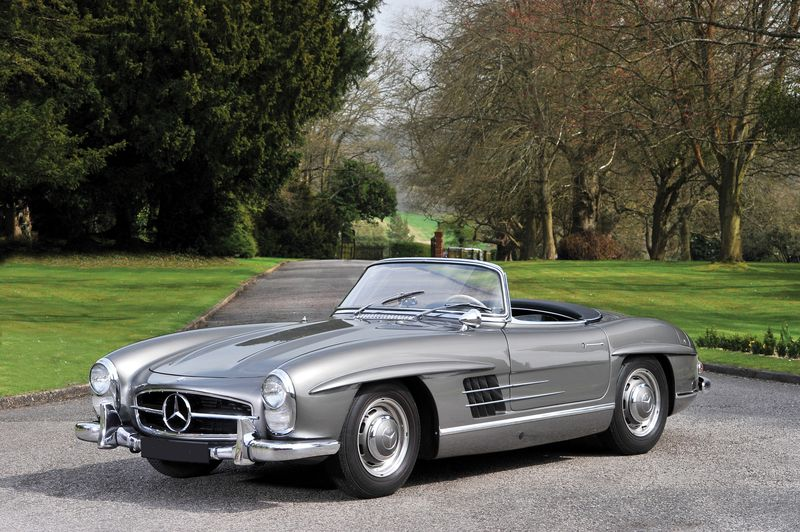 the mercedes 300 sl is hotter than ever on the vintage market