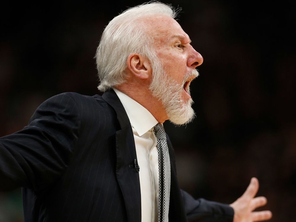 Spurs Coach Gregg Popovich and President Donald Trump are definitely not on  the same team when