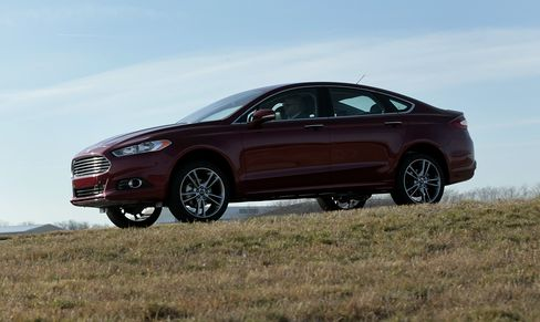 Ford's Fusion Output Boost Tests $2,300 Premium Over Camry