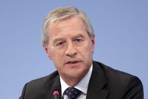 Deutsche Bank AG C0-CEO Juergen Fitschen