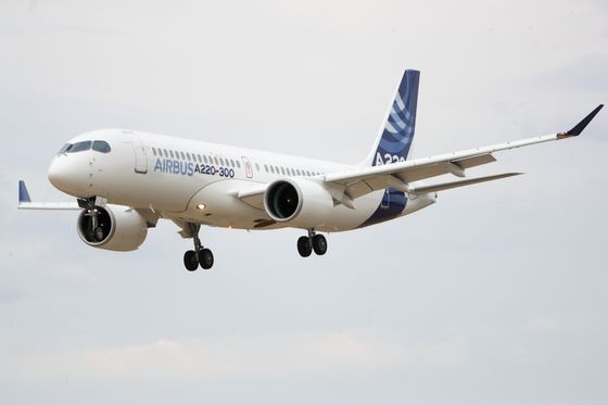 Airbus's Bombardier Gambit Gets Boost With $5.4 Billion Jet Deal