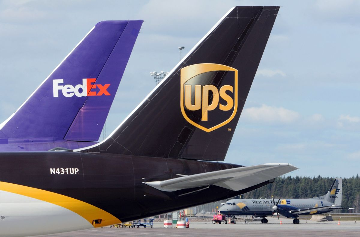Pandemic Rebalances the Scales for FedEx and UPS