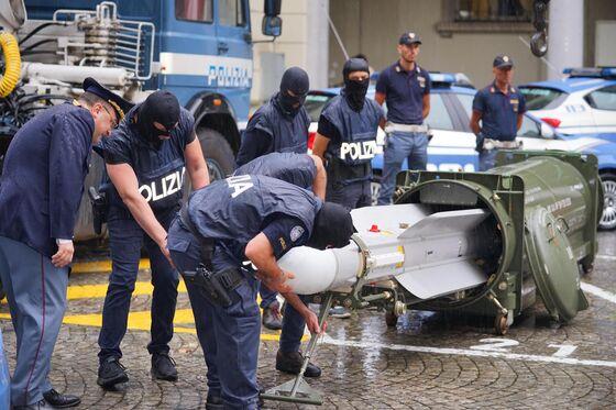 Salvini Says Death Threat Led Italian Police to Missile Seizure