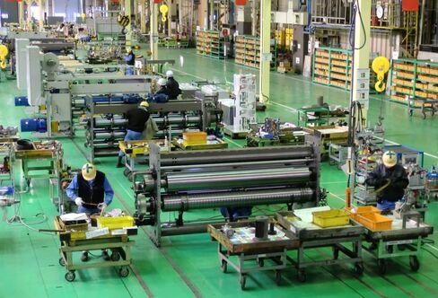 三菱重工印刷紙工機械の工場(広島県三原市)