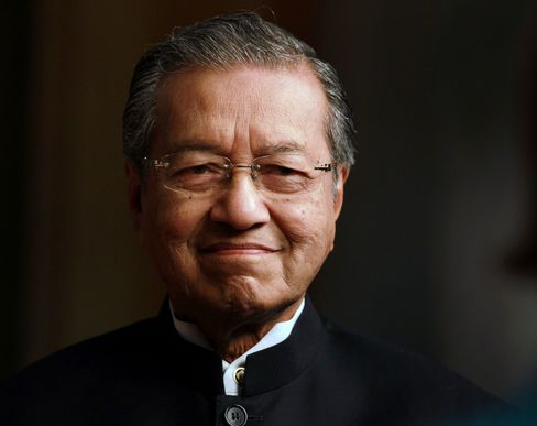 Former Malaysia Prime Minister Mahathir Mohamad