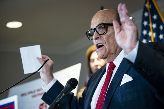 Giuliani's Election Conspiracy Theory Faces Test in Court