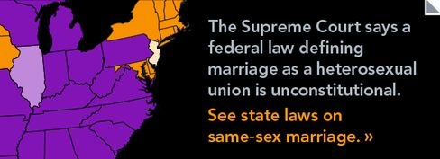 Supreme Court Strikes Down Federal Marriage Law