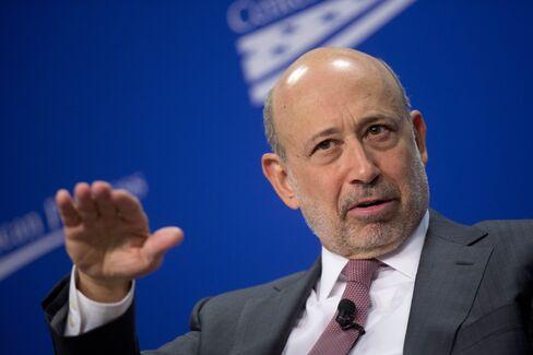 Goldman Sachs CEO Lloyd C. Blankfein