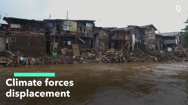 Climate Forces Displacement