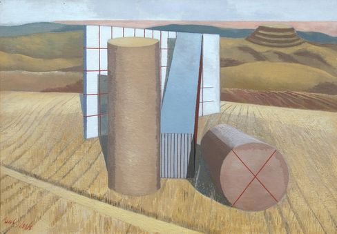 Paul Nash, Equivalents for the Megaliths, 1935.
