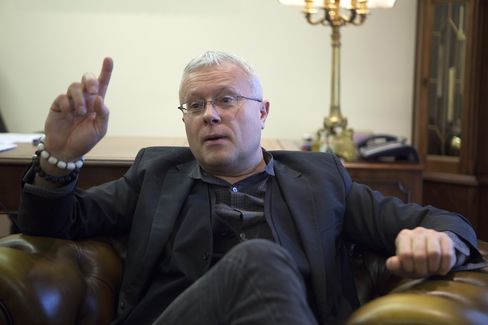 Russian Newspaper Tycoon Alexander Lebedev