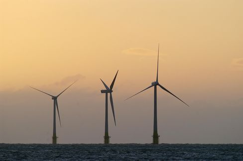 Wind's $168 Billion North Sea Boom Lures Oil Industry