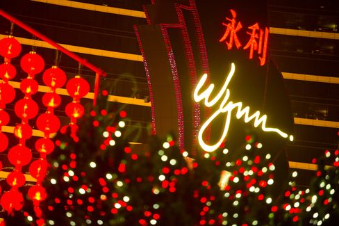 Wynn Macau Rises to One-Year High as Net Jumps