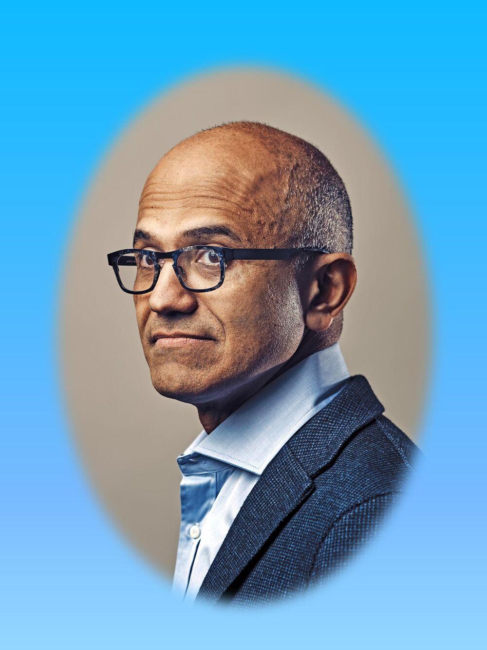 aa3b1c2958e524 Satya Nadella Remade Microsoft as World's Most Valuable Company ...