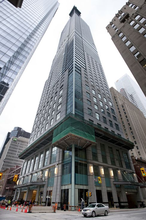 Trump Tower Battle Shows Cracks in Toronto Condo Boom