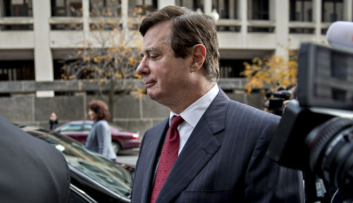 N.Y. Manafort Case Barred by Double Jeopardy, Appeals Court Says