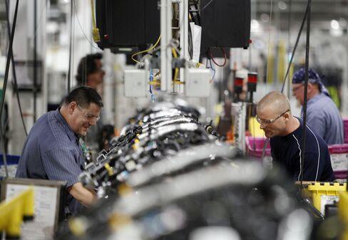 Workweek Tying Longest Since WWII Spurs Hiring at U.S. Factories