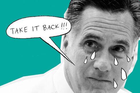 Mitt Romney's Wimp Factor