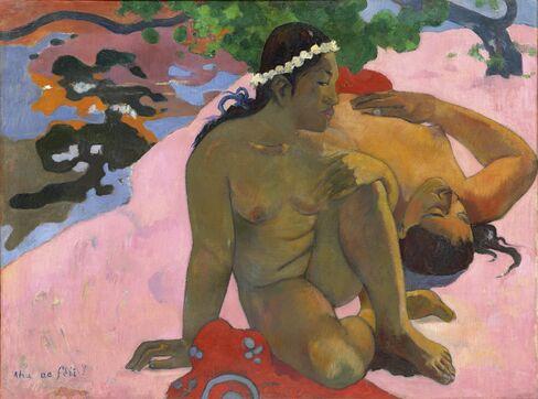 Paul Gauguin, Aha oé feii? (Eh quoi, tu es jalouse?), 1892.