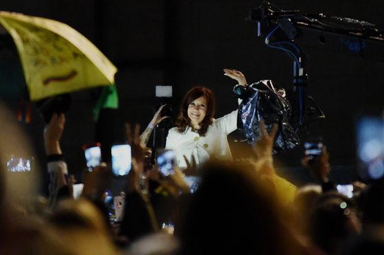 Argentina's Kirchner Returns to Limelight, Stays Mum on Candidacy
