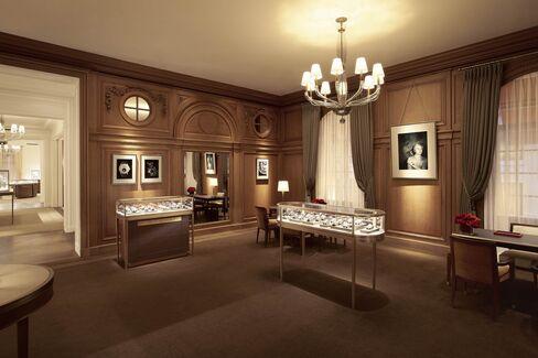 The Andy Warhol salon.