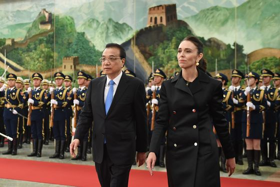New Zealand's Ardern Visits China as Countries Look to Reset Relations