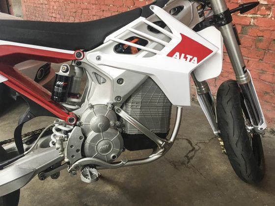 This Alta Motorcycle Hints at Harley-Davidson's Electric Future