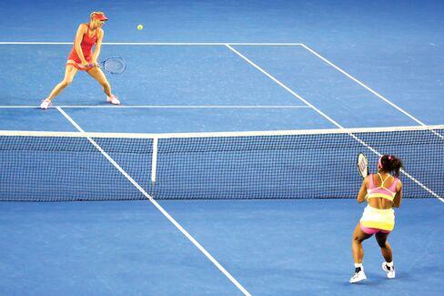 Losing to Williams in the Australian Open final, 2015.