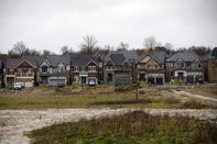 Home Construction Outside Of Toronto Ahead Of New Housing Price Figures