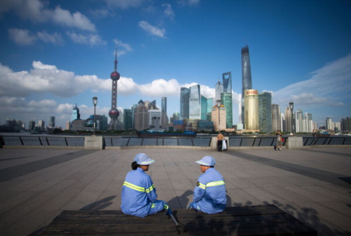 shanghai and chinas economic rise essay What do you think of china's rise pudong area of shanghai i personally think china's rise to power would bring more economic growth all around the.