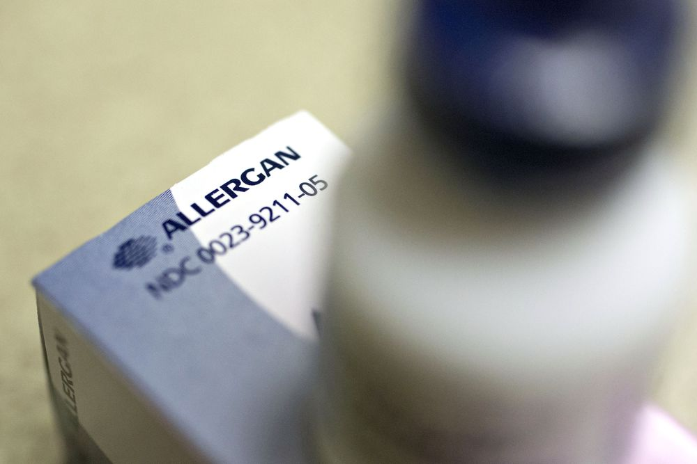 3765d1935ee5 Court Says Allergan Can t Shield Restasis Patents With Tribe - Bloomberg