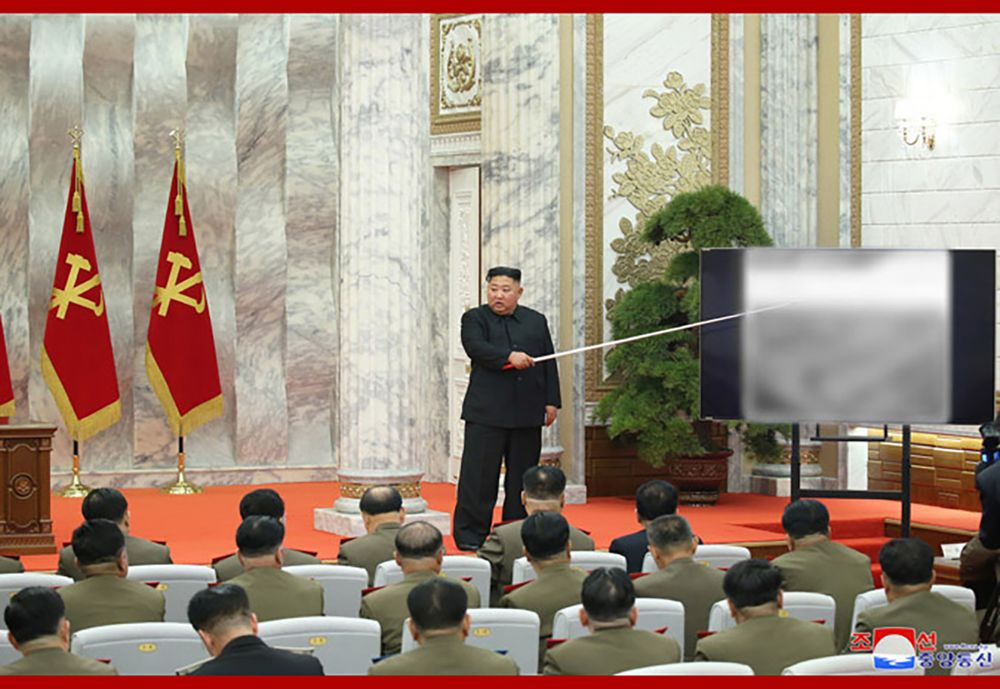 North Korea [Kim Jong Un] discusses new policies for increasing 'nuclear war deterrence'