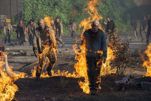 'Walking Dead' Outdraws Football as Cable Shows Flex Muscles