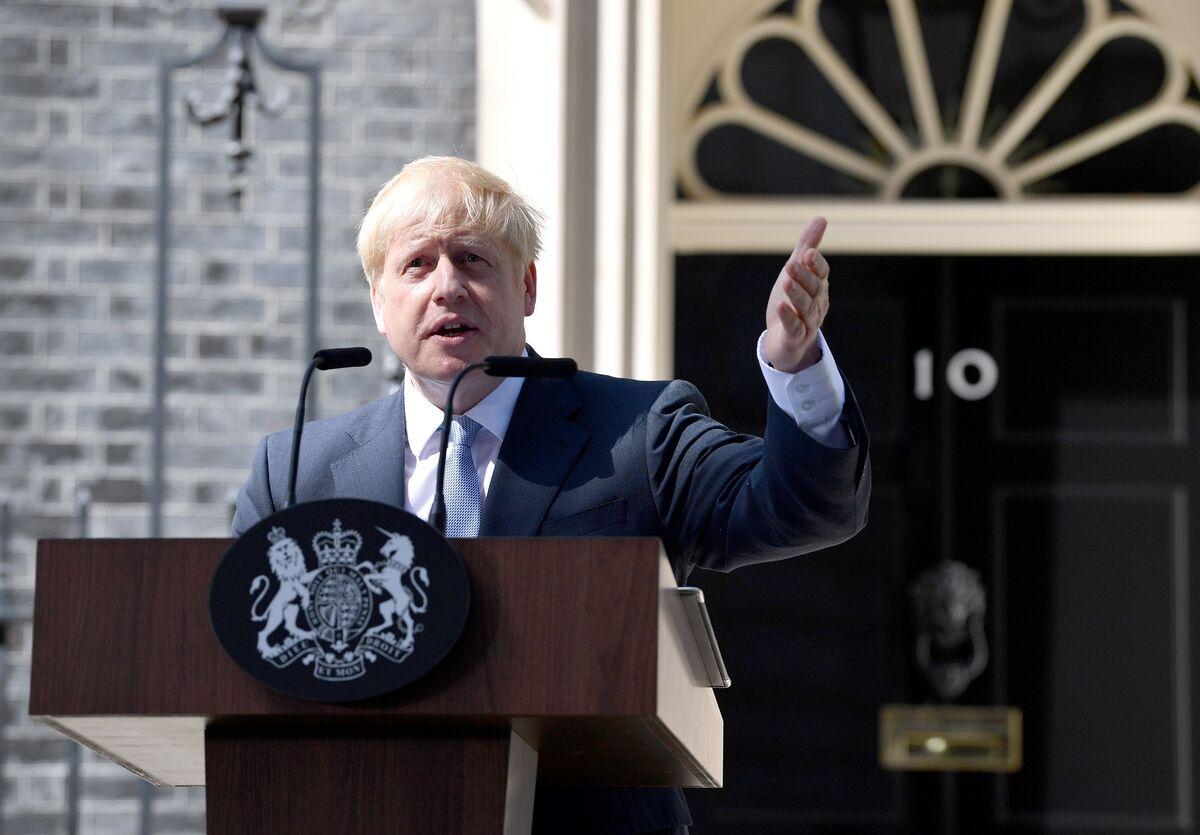 Boris Johnson Has His Campaign Slogan Ready