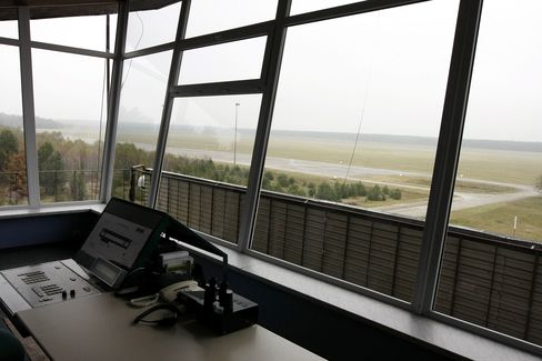 This 2010 file photo shows the the control tower of Szymany's airport, in northeastern Poland, which the CIA allegedly used from 2002 to 2005 to transport
