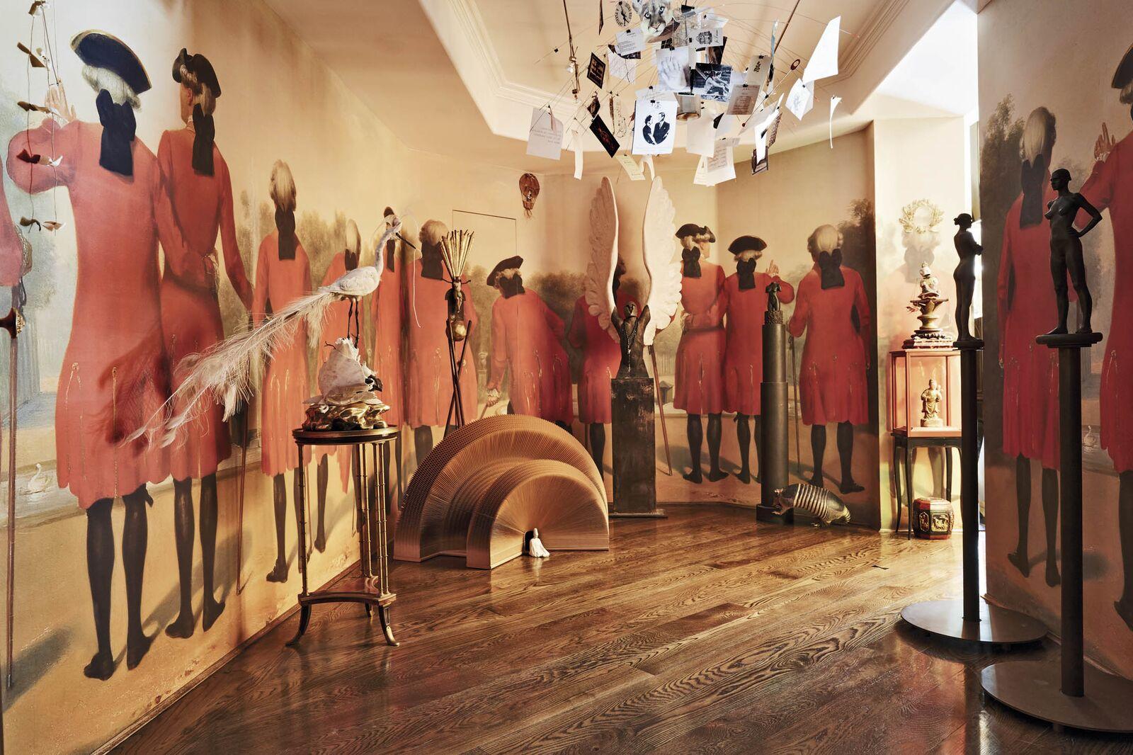 A gallery in Valerie von Sobel's house