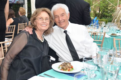 Barbara and Donald Zucker, honorees of the WCS gala. Photographer: Amanda Gordon/Bloomberg